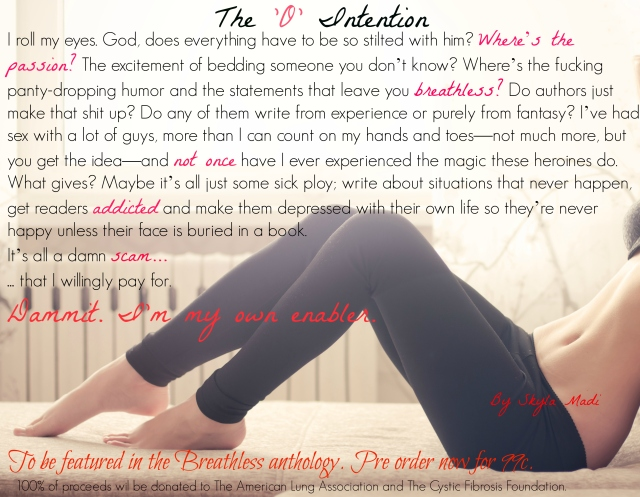Teaser #3 TheOIntention