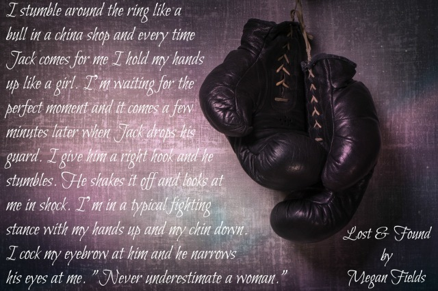 Retro boxing gloves hanging on a grungy background.